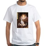 Queen / Italian Greyhound White T-Shirt