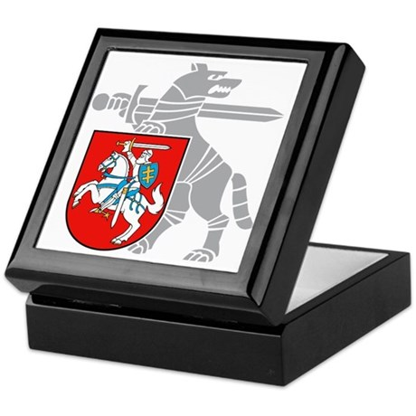 LT Defense Ministry Vytis Keepsake Box