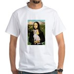 Mona Lisa / Ital Greyhound White T-Shirt