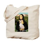Mona Lisa / Ital Greyhound Tote Bag