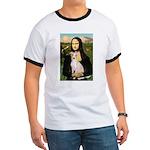 Mona Lisa / Ital Greyhound Ringer T