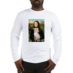 Mona Lisa / Ital Greyhound Long Sleeve T-Shirt