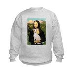 Mona Lisa / Ital Greyhound Kids Sweatshirt
