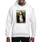 Mona Lisa / Ital Greyhound Hooded Sweatshirt