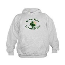 First St. Patrick's Baby Hoodie