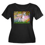 Garden / Ital Greyhound Women's Plus Size Scoop Ne