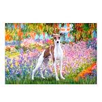 Garden / Ital Greyhound Postcards (Package of 8)