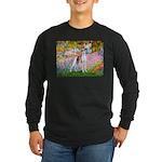 Garden / Ital Greyhound Long Sleeve Dark T-Shirt
