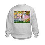 Garden / Ital Greyhound Kids Sweatshirt