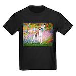 Garden / Ital Greyhound Kids Dark T-Shirt