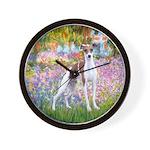 Garden / Ital Greyhound Wall Clock