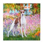 Garden / Ital Greyhound Tile Coaster