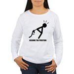 Assume the Position Women's Long Sleeve T-Shirt