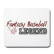 Fantasy Baseball Legend Mousepad