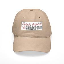 Fantasy Baseball Champion Baseball Cap
