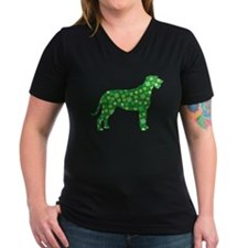 Shamrocks Irish Wolfhound Shirt