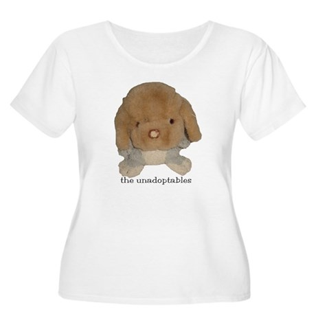 Unadoptables 3 Women's Plus Size Scoop Neck T-Shir