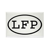 LFP Oval Rectangle Magnet (100 pack)