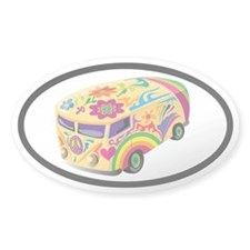 Microbus Euro Oval Decal