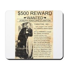 Wanted Ike Clanton Mousepad