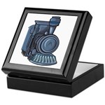 Railroad Mason Keepsake Box
