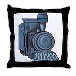 Railroad Mason Throw Pillow