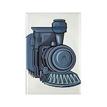 Railroad Mason Rectangle Magnet (10 pack)