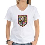 Weed-Wackers Women's V-Neck T-Shirt
