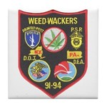 Weed-Wackers Tile Coaster