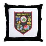 Weed-Wackers Throw Pillow