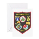 Weed-Wackers Greeting Card
