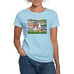 Lilies2/Italian Greyhound Women's Light T-Shirt