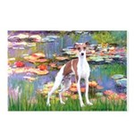 Lilies2/Italian Greyhound Postcards (Package of 8)