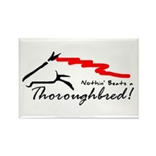 Thoroughbred Rectangle Magnet (10 pack)