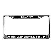 Anatolian Shepherd Dogs (Plural) License Frame