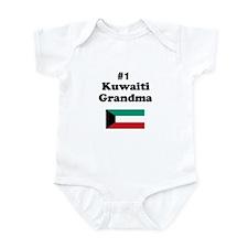#1 Kuwaiti Grandma Infant Bodysuit