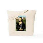Mona Lisa / Chihuahua Tote Bag