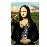 Mona Lisa / Chihuahua Postcards (Package of 8)