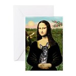 Mona Lisa / Chihuahua Greeting Cards (Pk of 10)
