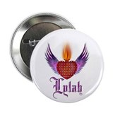 "LYLAH ""Studded Heart"" Button"