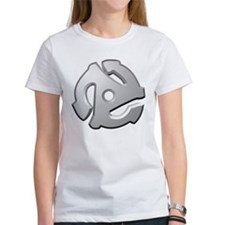 45 RPM Adapter DJ Logo Tee