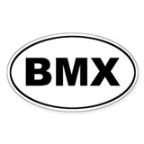 BMX Euro Oval Decal
