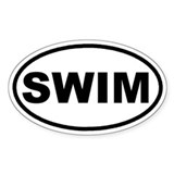 SWIM Euro Oval Decal
