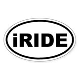 iRIDE Euro Oval Decal