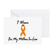 I Wear Orange For My Mother-In-Law 1 Greeting Card