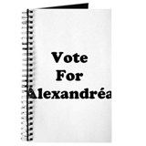 Vote For Alexandrea Journal