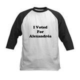 I Voted For Alexandria Tee