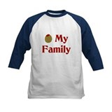Olive (I Love) My Family Tee