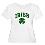 Irish Women's Plus Size Scoop Neck T-Shirt