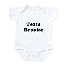 Team Brooke Infant Bodysuit